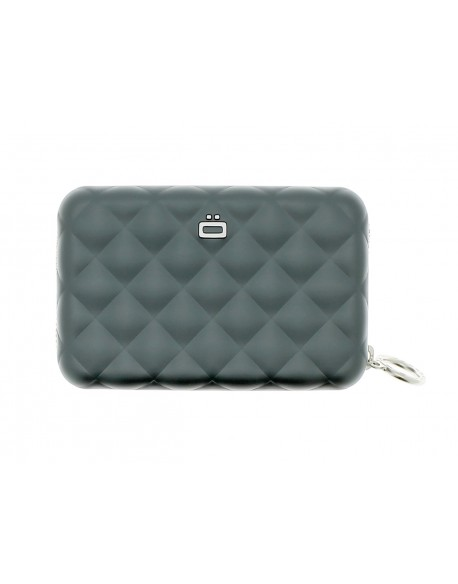 Ogon Designs Wallet Card case QUILTED ZIPPER